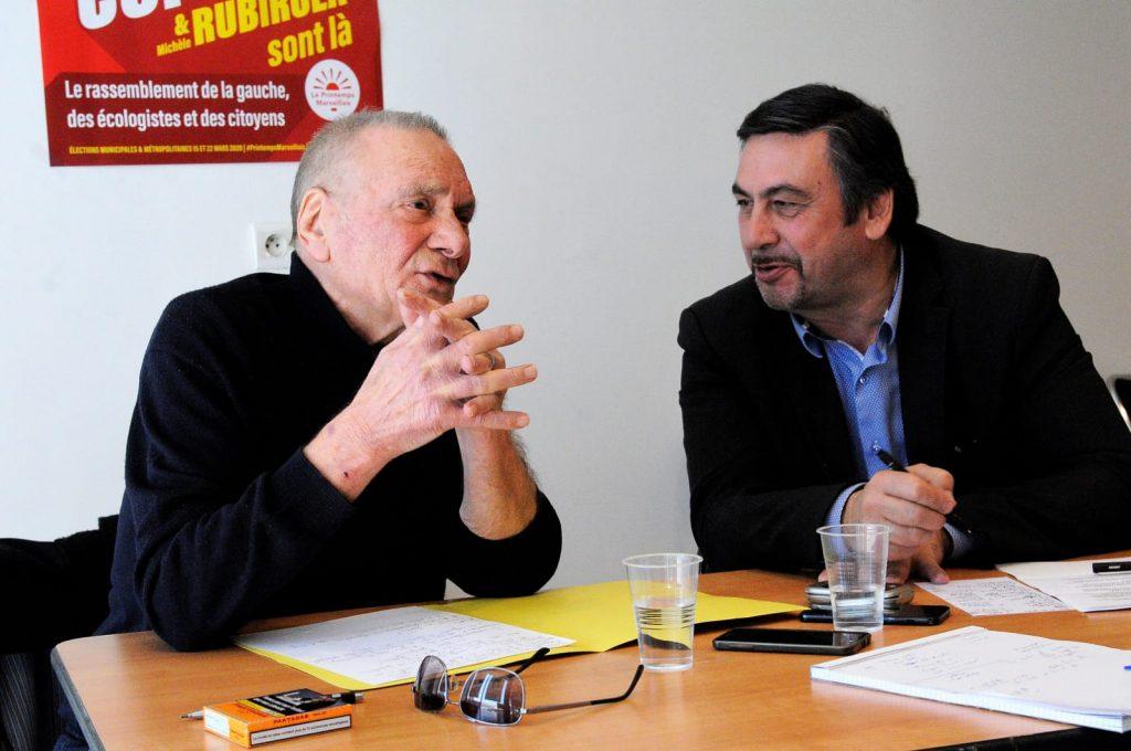 roger ruze et jean marc coppola - crédits photo : MIGUÉ MARIOTTI / WALLIS.FR