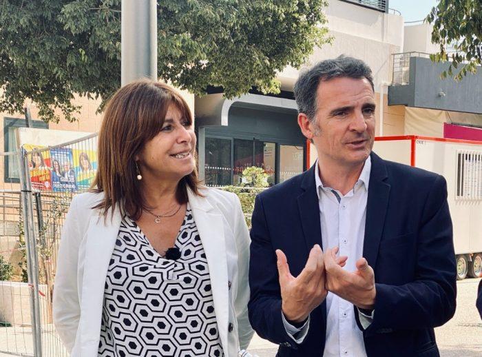 Michèle Rubirola et Eric Piolle